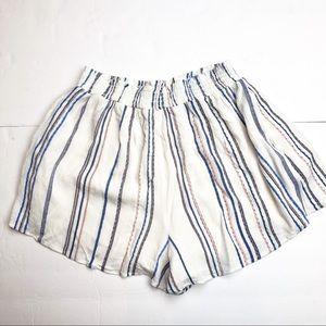 ⭐️Lush High Rise Striped Flowy Shorts